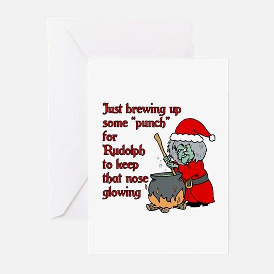Brew for Rudolph Greeting Cards (Pk of 20)