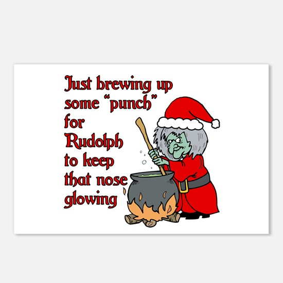 Brew for Rudolph Postcards (Package of 8)
