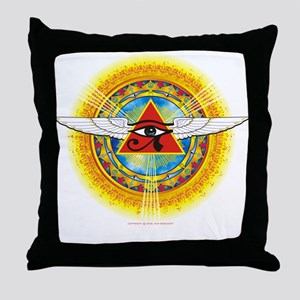 Eye_of_Horus Throw Pillow