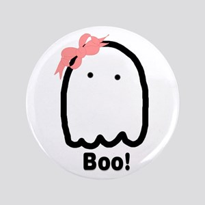 """Boo! 3.5"""" Button"""