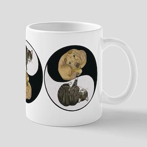 Tabby & Shar Pei Yin Yang Mug