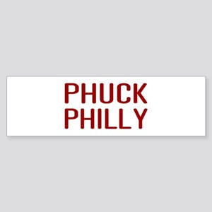 Phuck Philly 2 Bumper Sticker