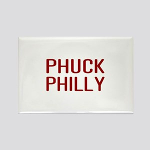 Phuck Philly 2 Rectangle Magnet