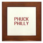 Phuck Philly 2 Framed Tile