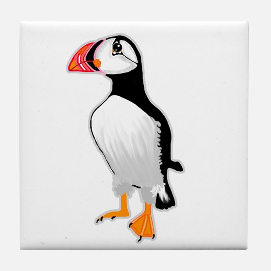 Puffin Tile Coaster