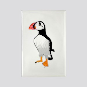 Puffin Rectangle Magnet