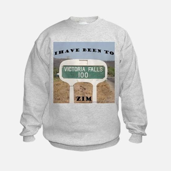 Victoria Falls Sign Post Sweatshirt