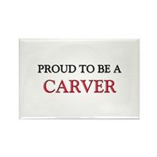 Proud to be a Carver Rectangle Magnet