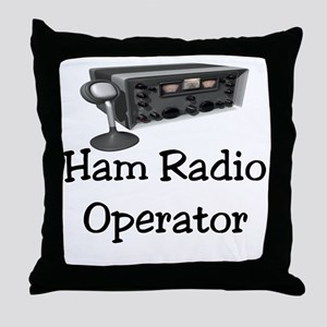 Ham Radio Operator Throw Pillow