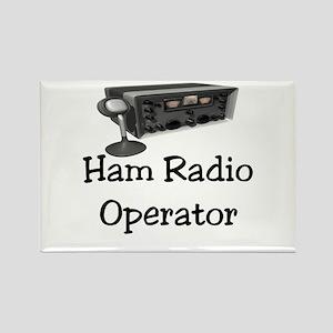 Ham Radio Operator Rectangle Magnet