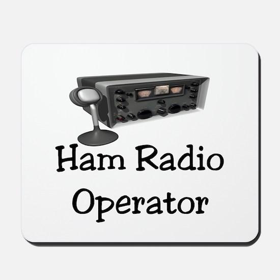Ham Radio Operator Mousepad