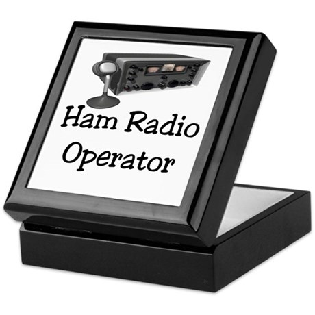 Ham Radio Operator Keepsake Box