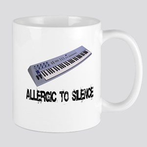 Allergic to Silence Keyboard Mug