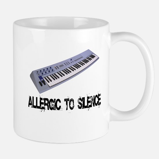 Allergic to Silence Keyboard Mug