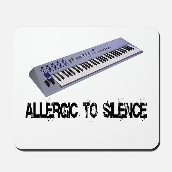 Allergic to Silence Keyboard Mousepad
