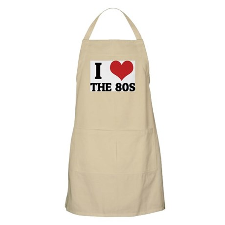 I Love the 80s BBQ Apron