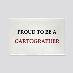 Proud to be a Cartographer Rectangle Magnet