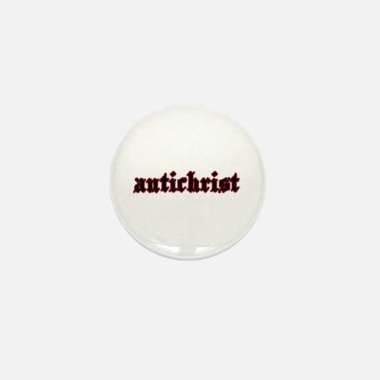 Antichrist Mini Button