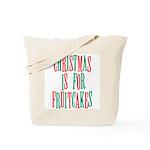 Christmas Fruitcake Tote Bag