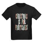 Christmas Fruitcake Kids Dark T-Shirt