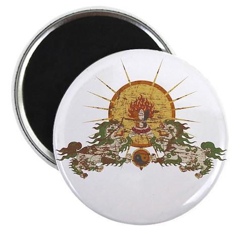 Tibetan Snow Lion Magnet