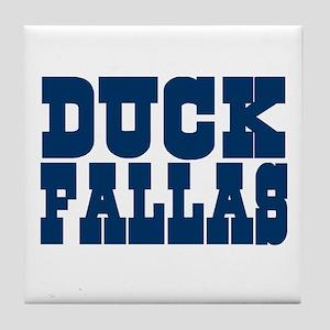Duck Fallas Tile Coaster