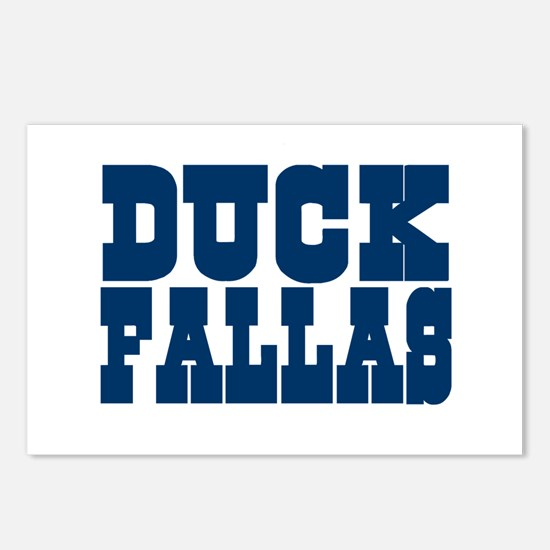Duck Fallas Postcards (Package of 8)