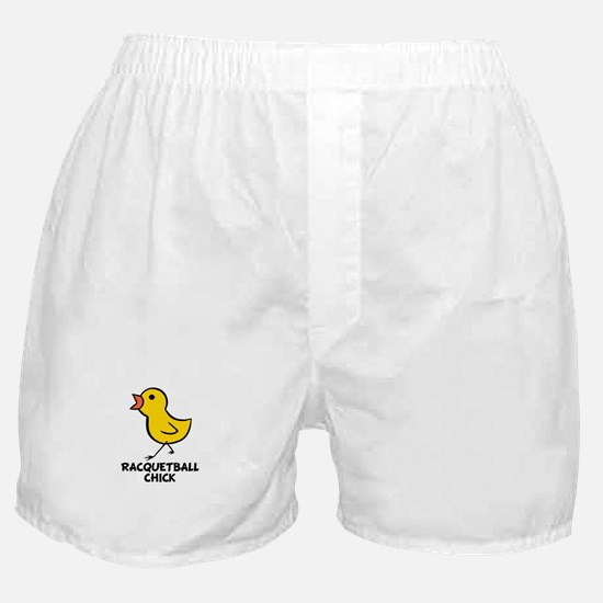 Racquetball Chick Boxer Shorts