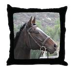 Thoroughbred Horse Head Pillow