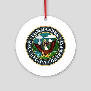 Navy Region Northwest Ornament (Round)
