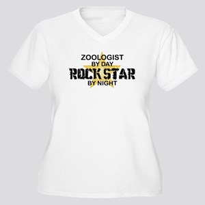 Zoologist Rock Star by Night Women's Plus Size V-N
