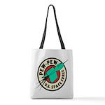 Pew Pew Polyester Tote Bag