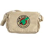 Pew Pew Messenger Bag