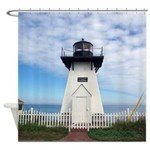 Olcott Lighthouse Shower Curtain