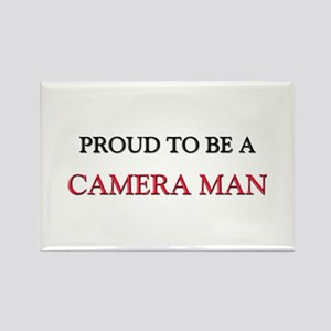 Proud to be a Camera Man Rectangle Magnet