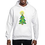 ILY Christmas Tree Hooded Sweatshirt