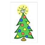 ILY Christmas Tree Postcards (Package of 8)