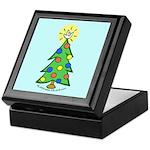 ILY Christmas Tree Blue Keepsake Box