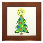 ILY Christmas Tree Framed Tile