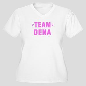 Team DENA Women's Plus Size V-Neck T-Shirt