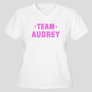 Team AUDREY Women's Plus Size V-Neck T-Shirt