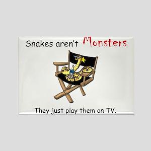 Movie Monster Rectangle Magnet