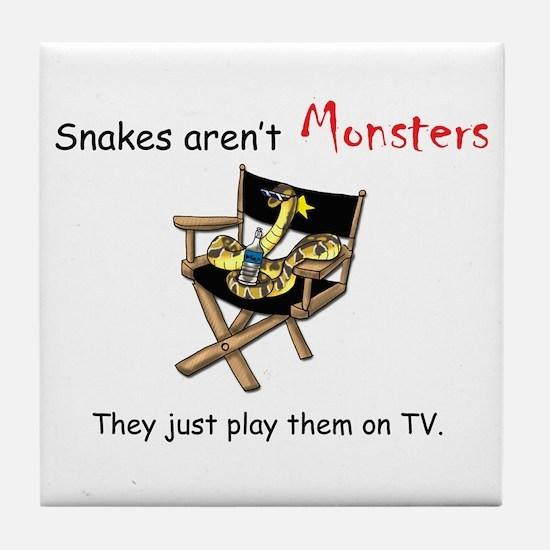 Movie Monster Tile Coaster