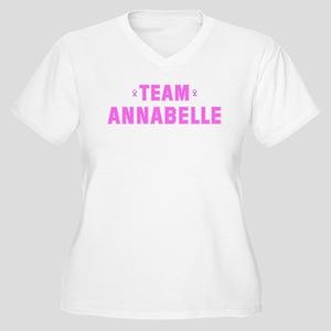 Team ANNABELLE Women's Plus Size V-Neck T-Shirt