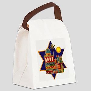 JEWISH STAR_ISRAEL Canvas Lunch Bag