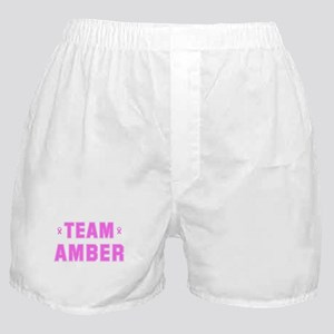 Team AMBER Boxer Shorts