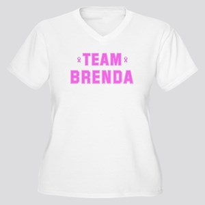 Team BRENDA Women's Plus Size V-Neck T-Shirt