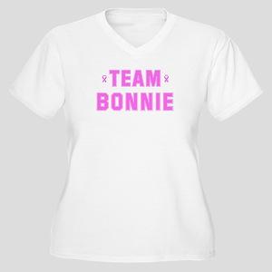 Team BONNIE Women's Plus Size V-Neck T-Shirt