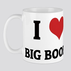 I Love Big Boobs Mug