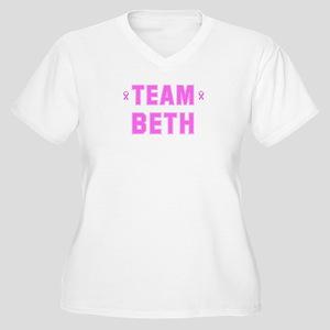 Team BETH Women's Plus Size V-Neck T-Shirt